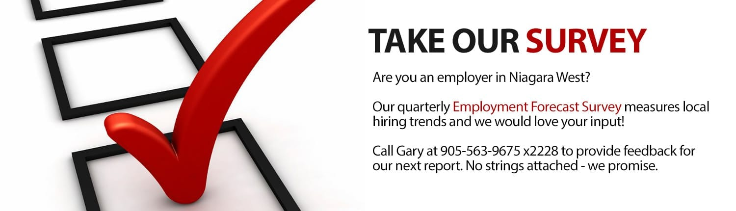 Employer in west niagara? take our survey